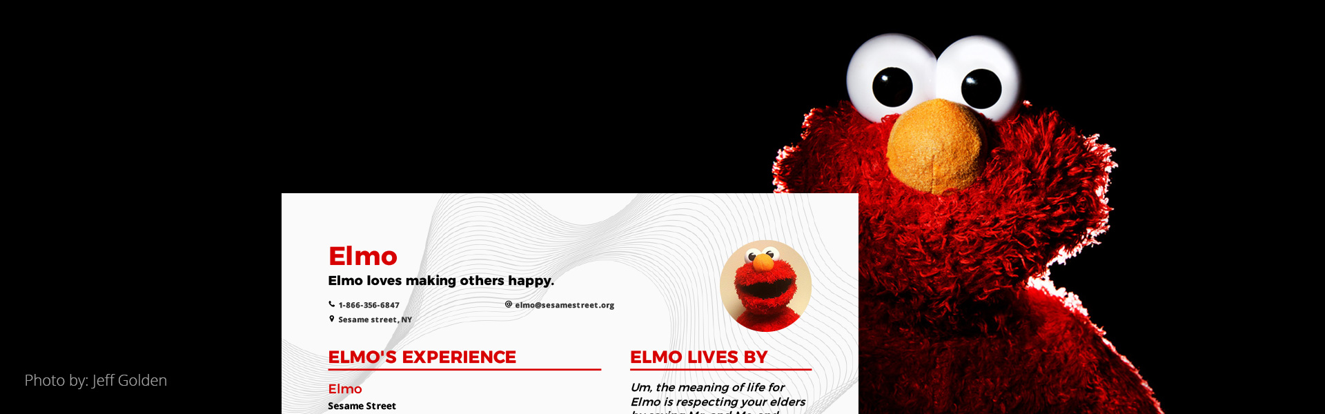 Elmo is getting laid off. How can we help? cover image