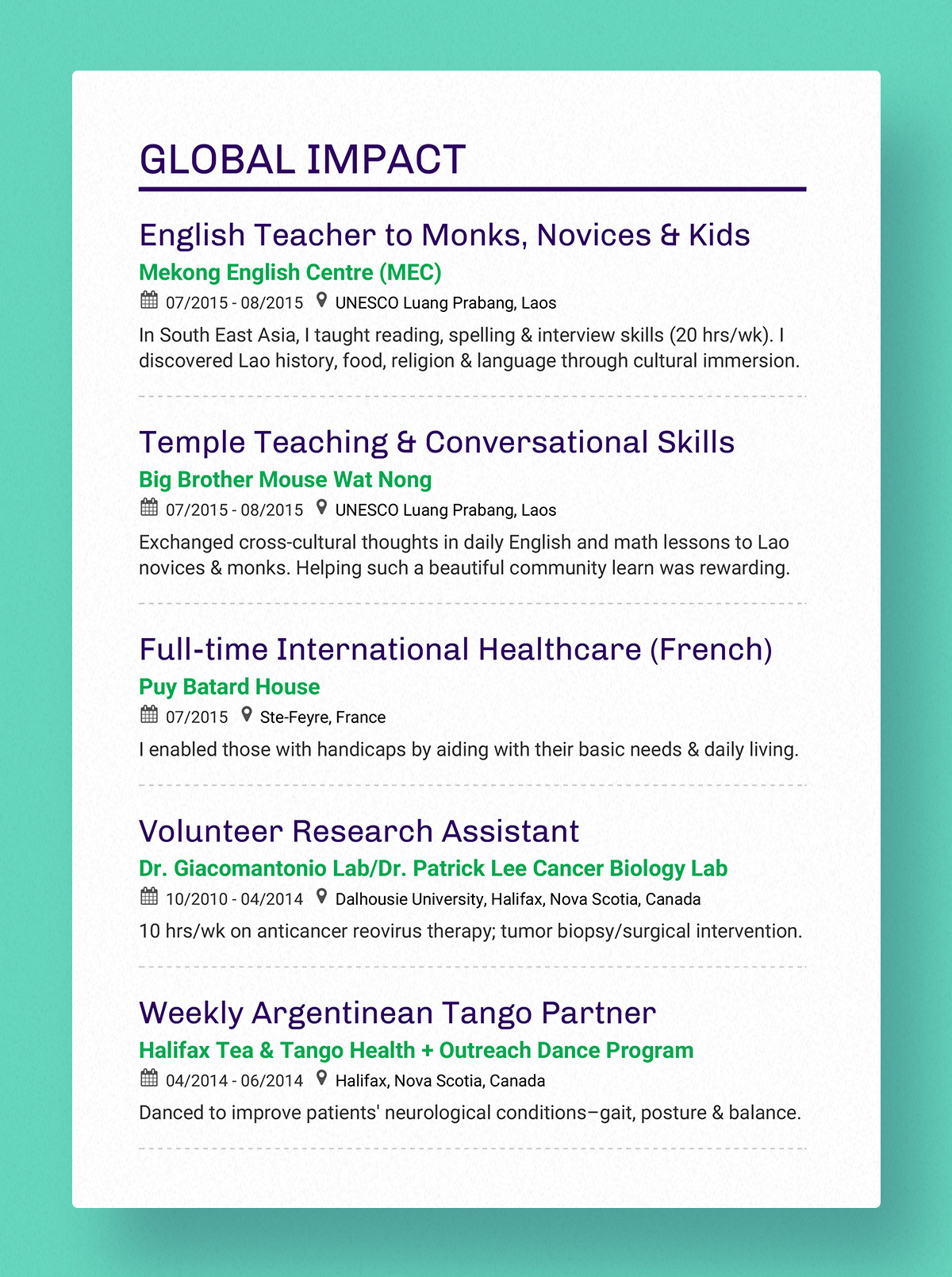 Enhancv What Is the Purpose of a Resume?