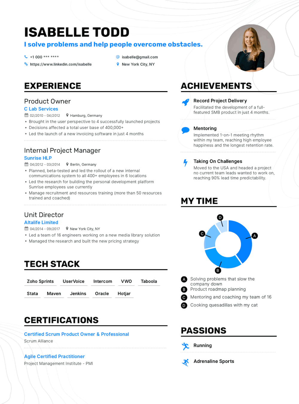 Enhancv 15 Tips to Create an Eye-Catching Resume That Gets You The Job (Including Templates)