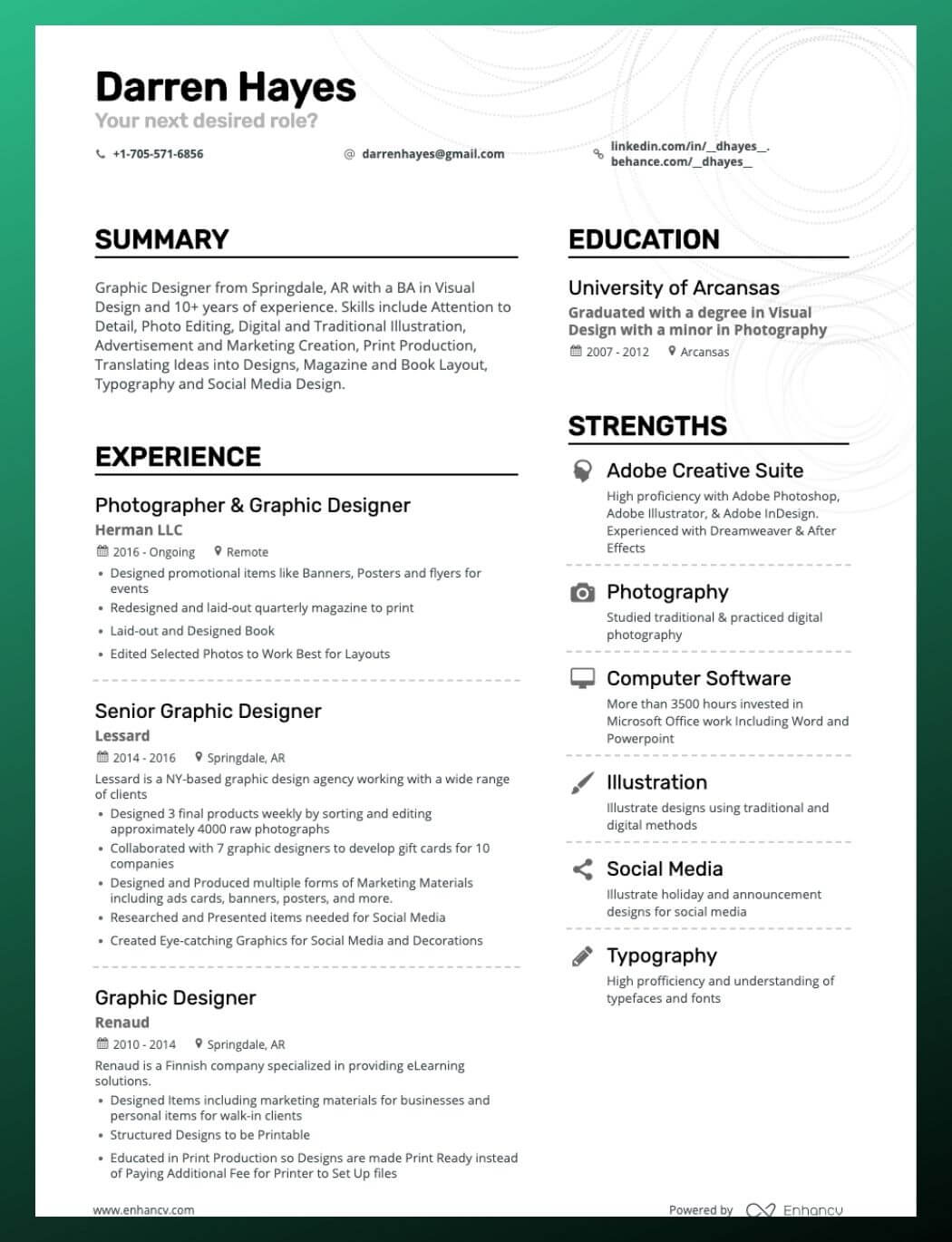 Enhancv How to Create A Resume Skills Section To Impress Recruiters (+10 Examples You Need to See)