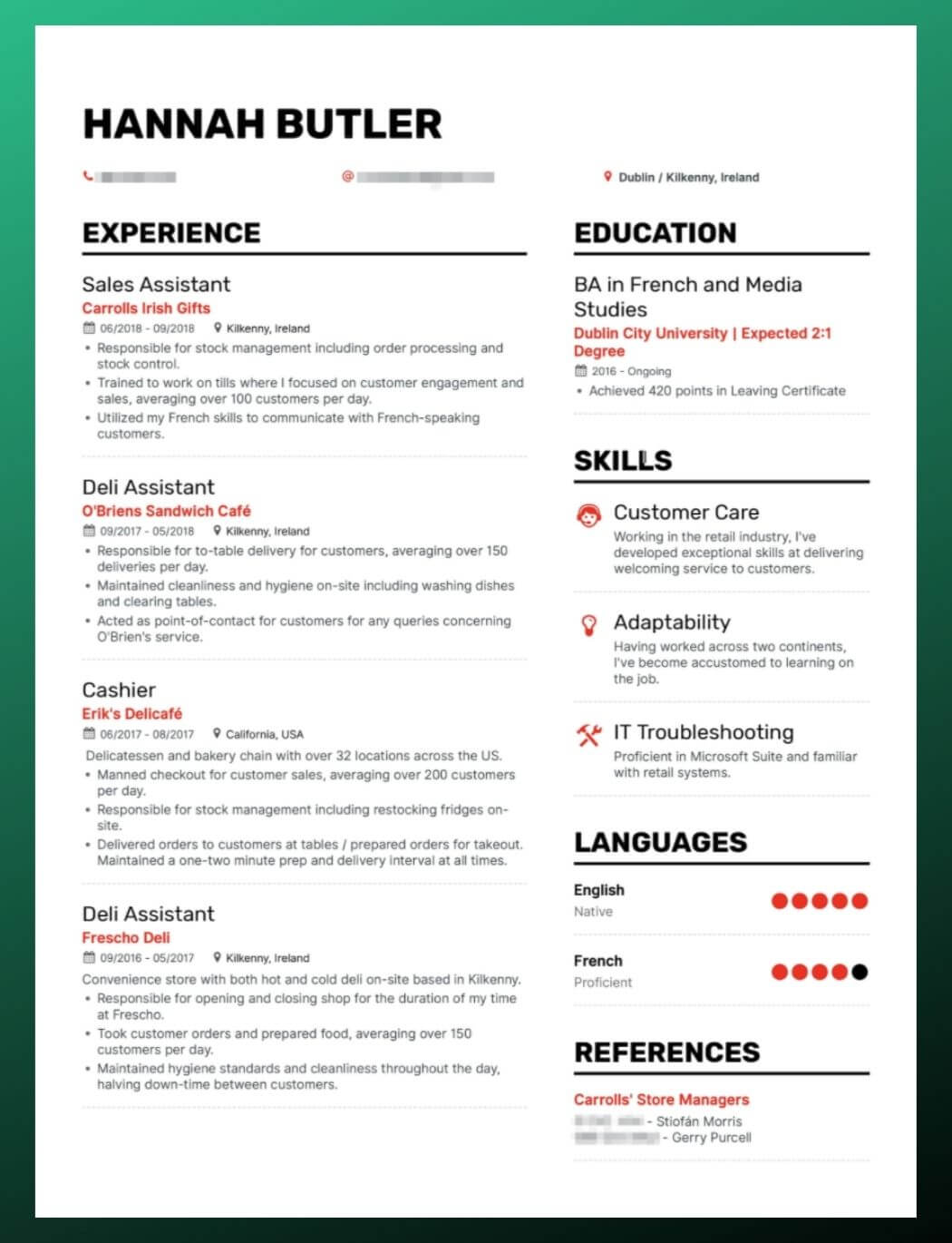 Enhancv Which Resume Font to Use? Top 5 Best Fonts to Increase Interview Chances resume font