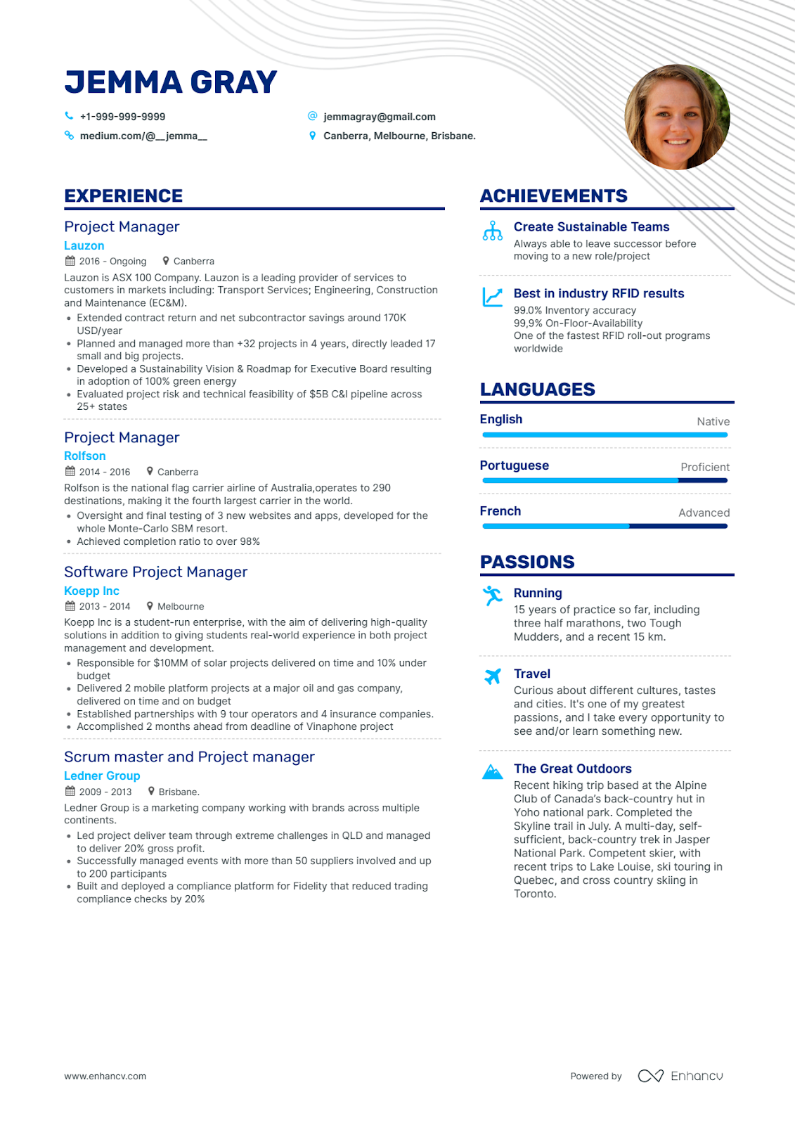 Enhancv Does Having Color on My Resume Affect My Chance of Getting Hired? Color on resume