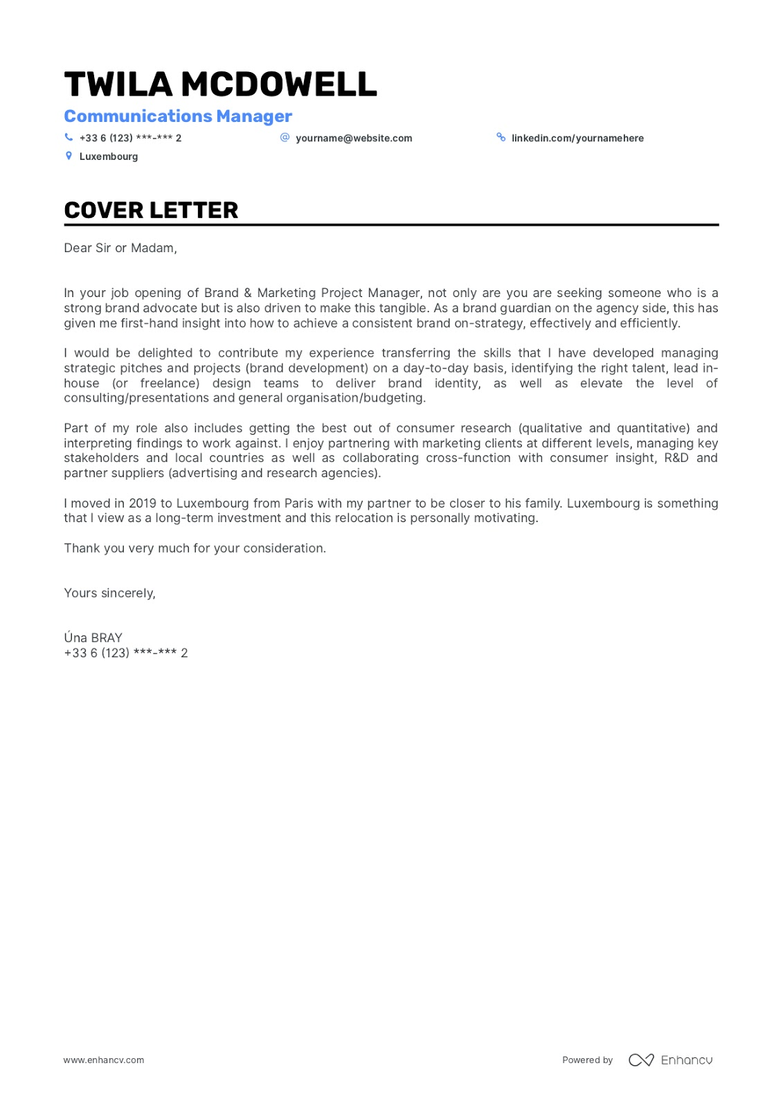 Cover Letter Design 5 Tips Examples For Success