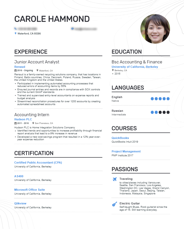 Enhancv A Guide To Types Of Resumes: Best Formats, Tips & Examples
