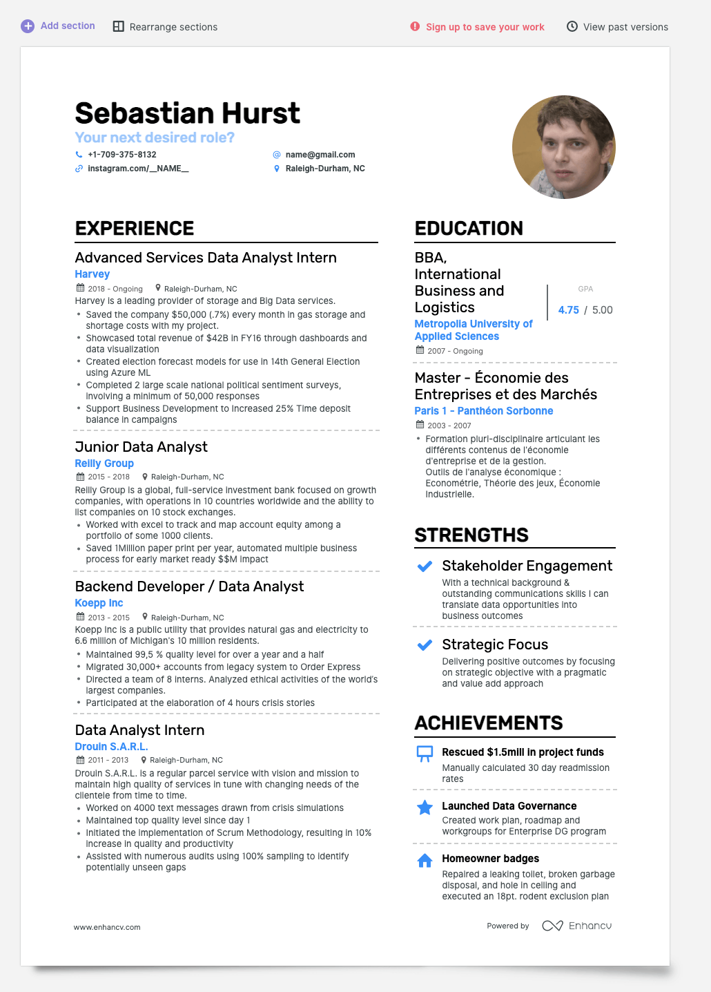 Enhancv How to Do Your References On Resume: Is It Important?