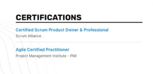 Enhancv How To List Certifications On A Resume (Examples Included)