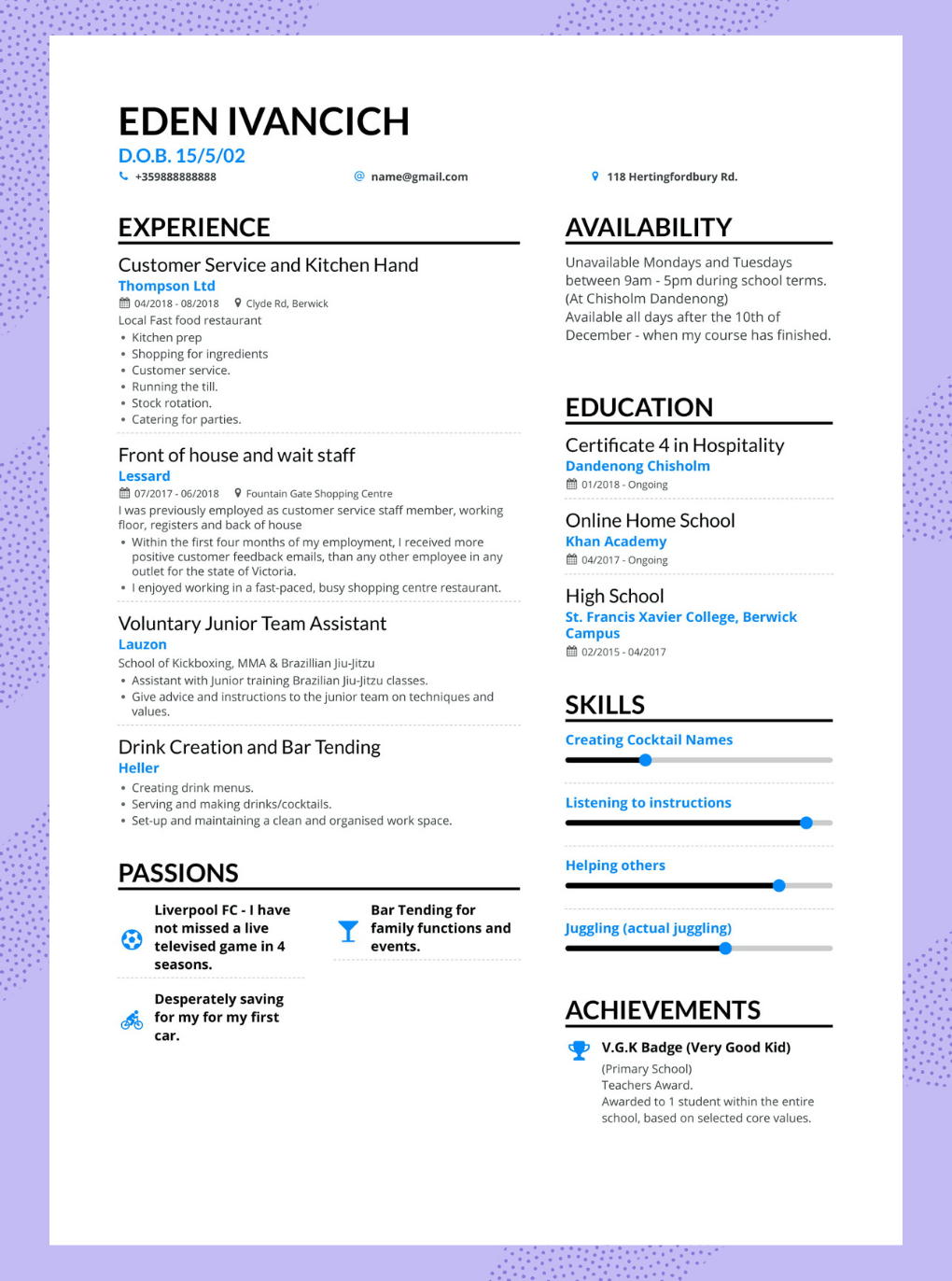 Enhancv When Should You Include Your High School on Your Resume?