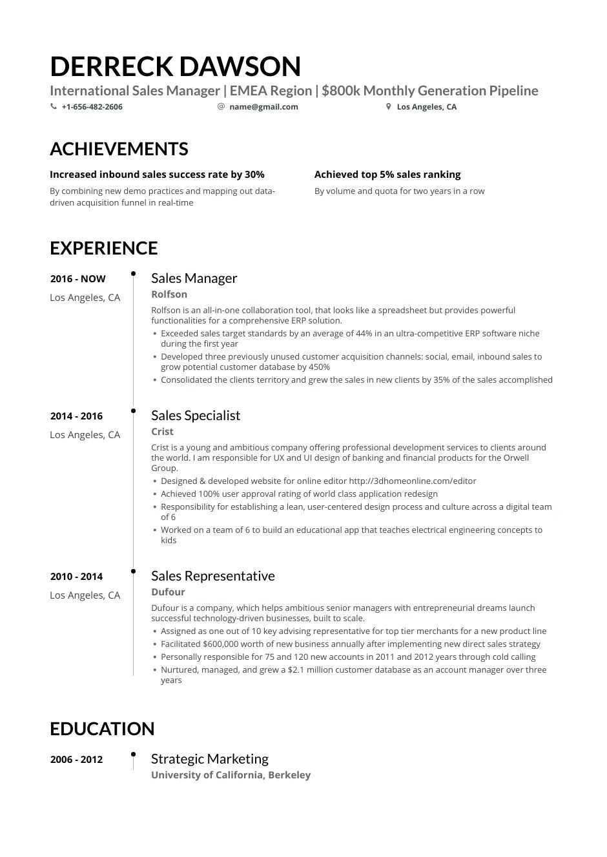 Senior sales manager resume 2012 essay writing structure apa