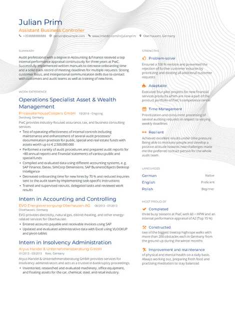 Looking To Build Your Own Resume