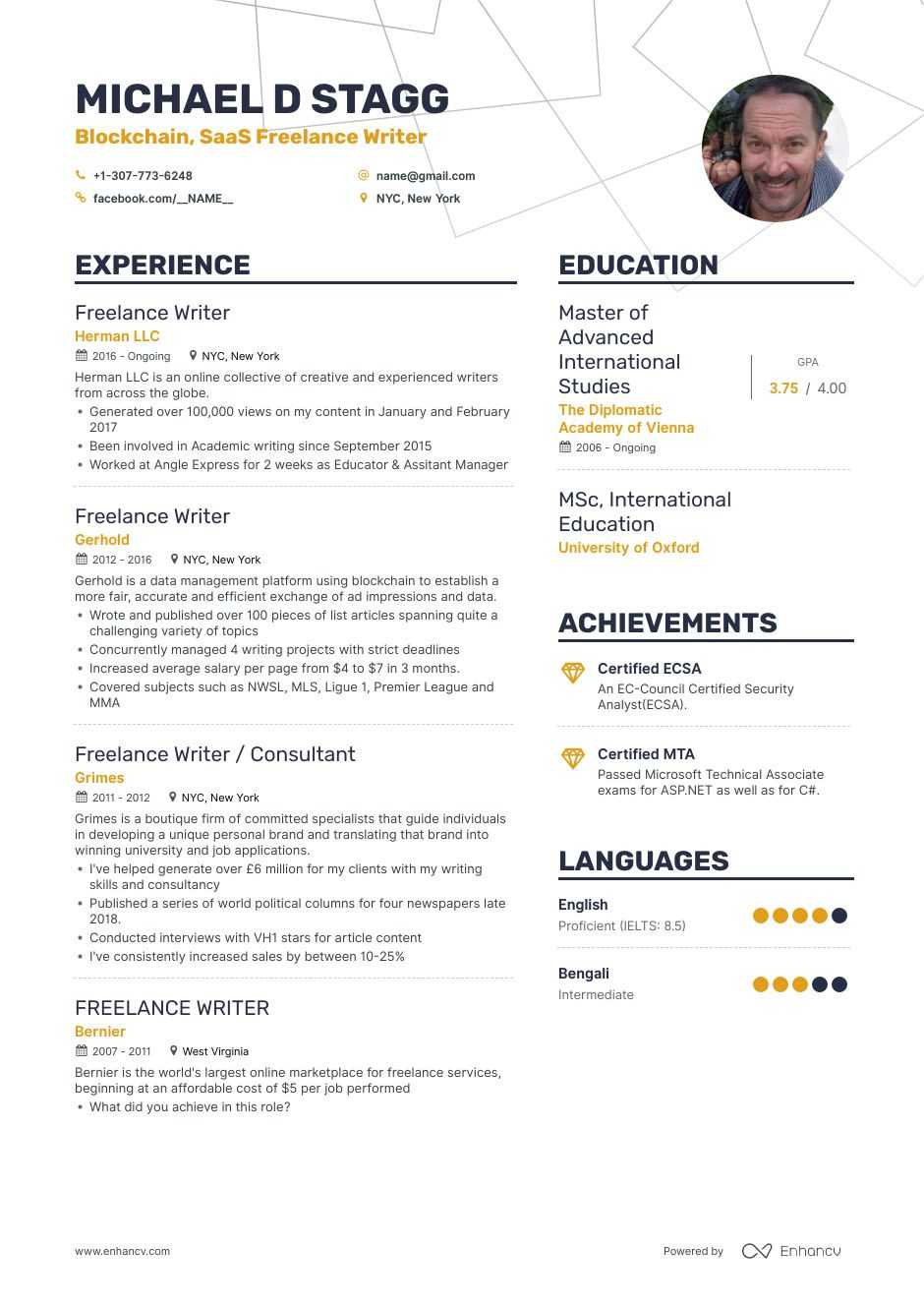 Freelance Writer Resume Examples And Skills You Need To Get Hired