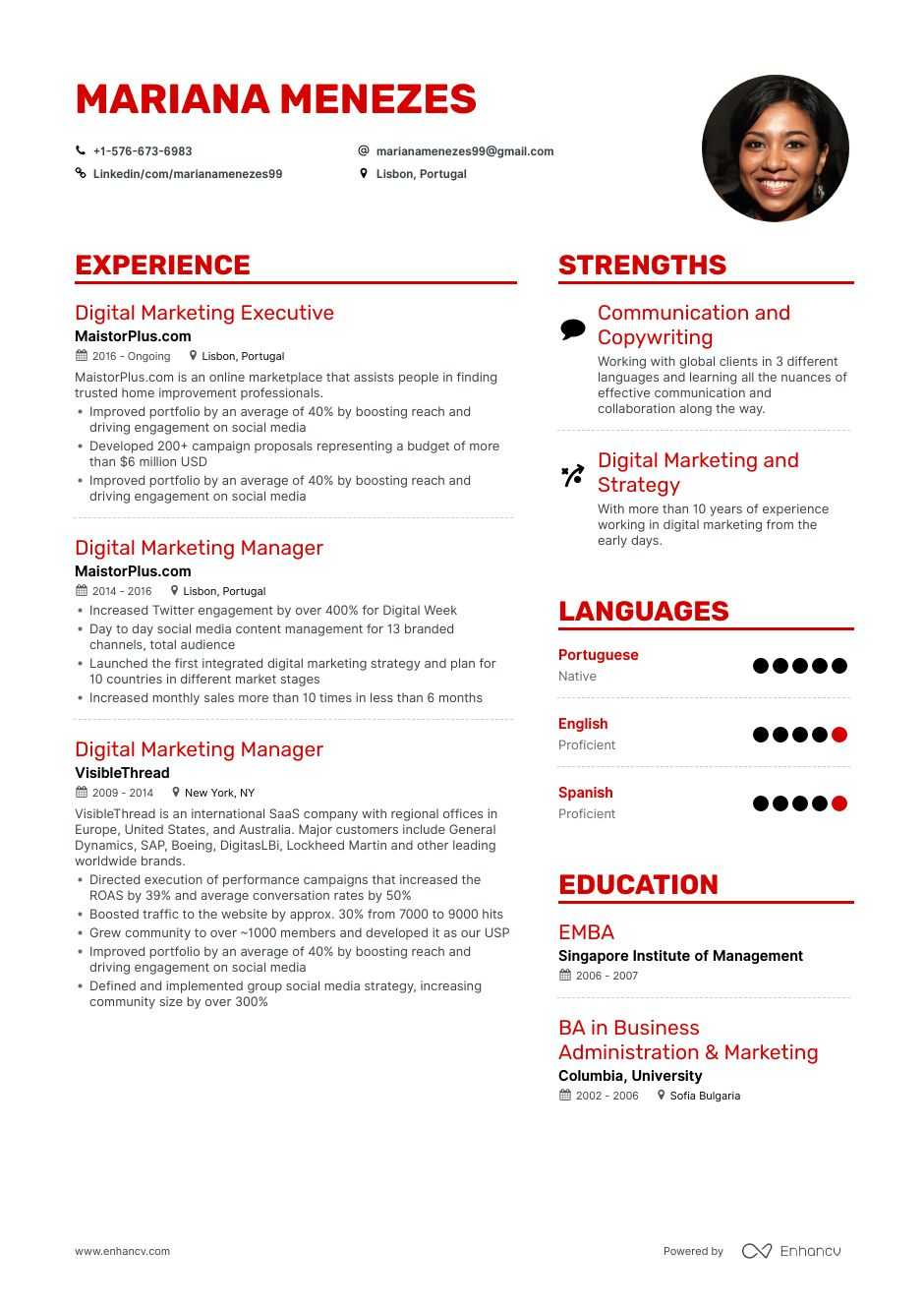 the best 2020 executive resume example guide