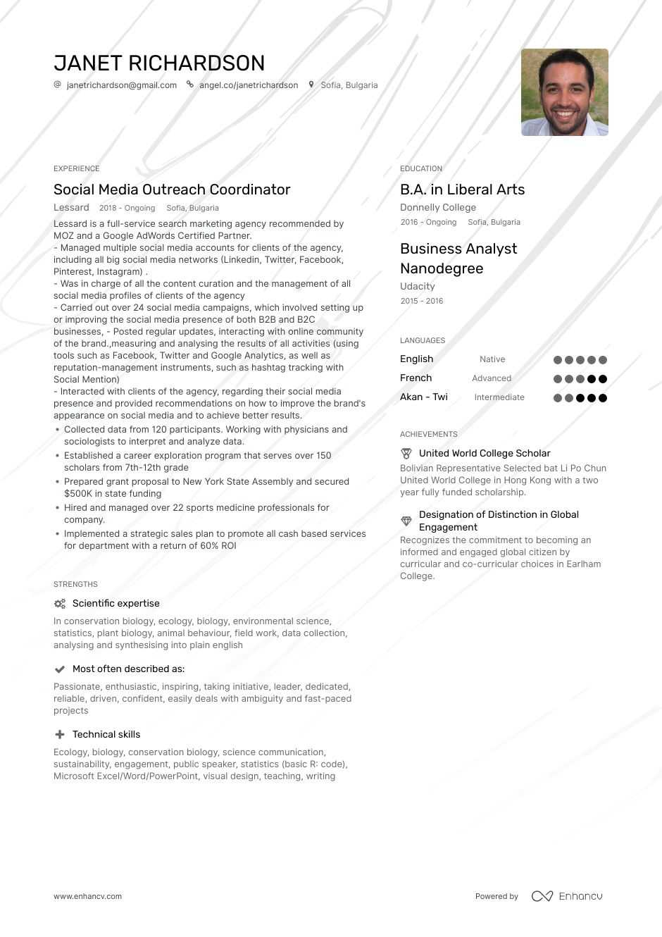 outreach coordinator resume example and guide for 2020