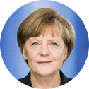 Angela Merkel's photo
