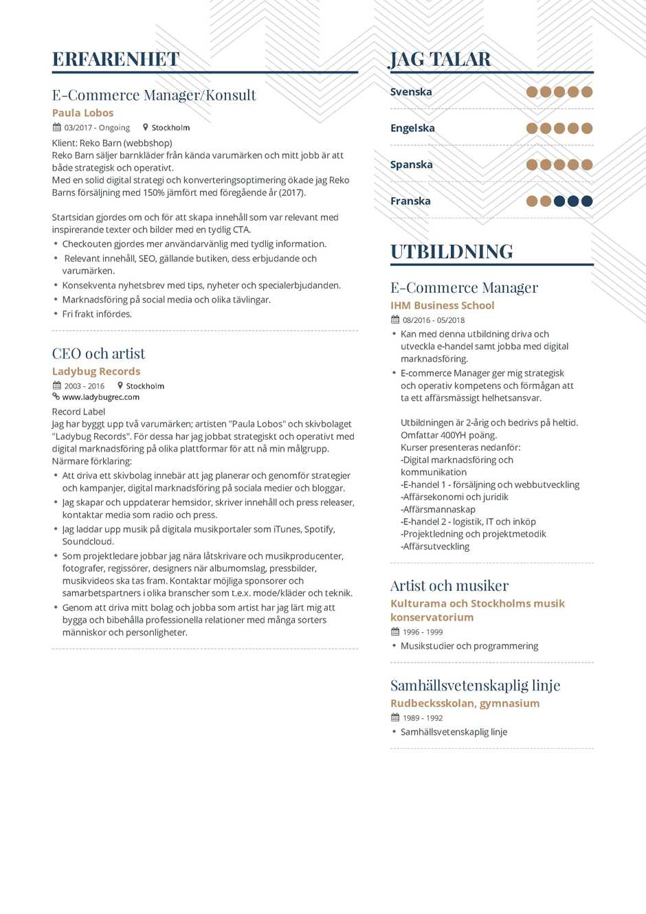 The Ultimate 2019 Resume Examples and Resume Format Guide