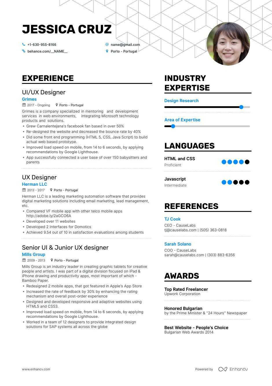 User Experience Designer Resume Sample لم يسبق له مثيل الصور
