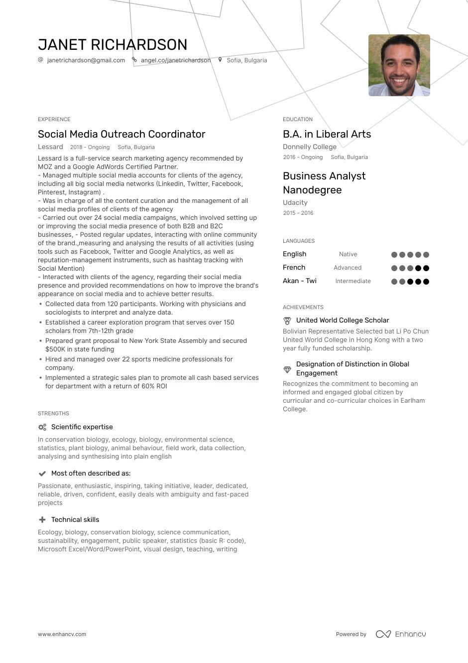 top outreach coordinator resume examples  u0026 samples for