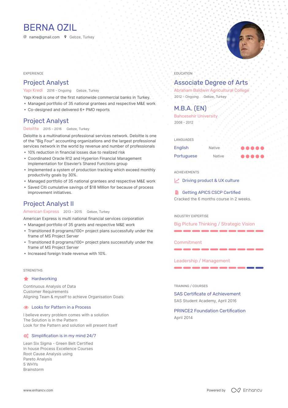 the best 2020 project manager resume example guide