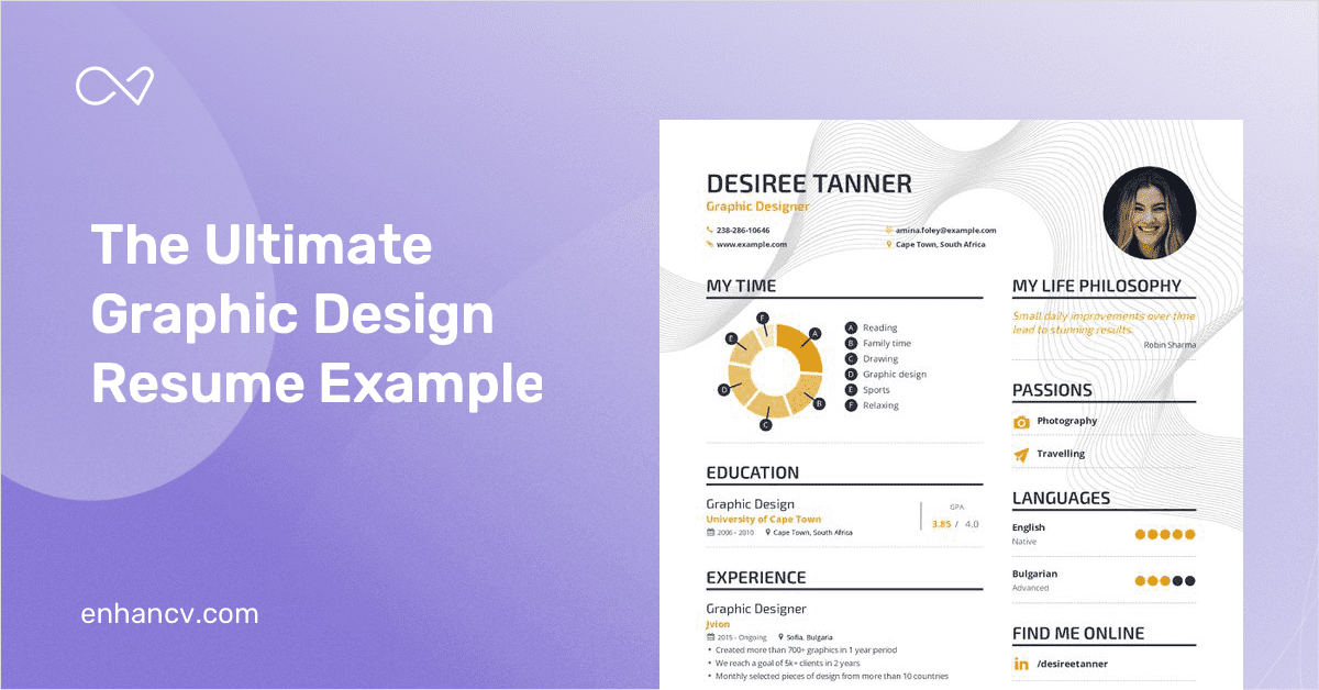 Graphic Designer Resume Example And Guide For 2020
