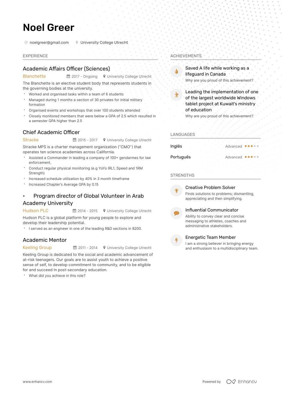 Gymnastics Coach Resume Example And Guide For 2020