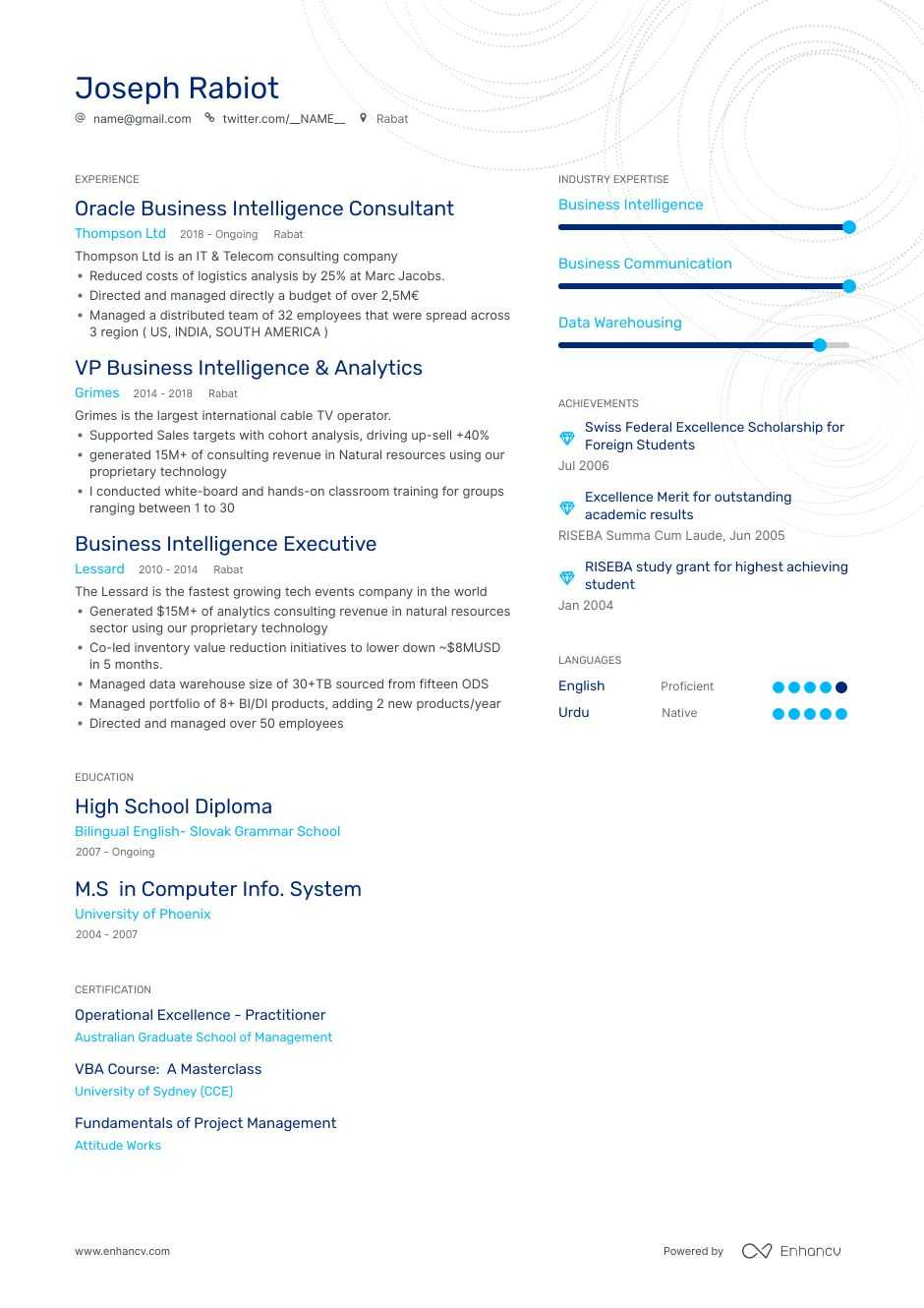 best agile business analyst resume examples with