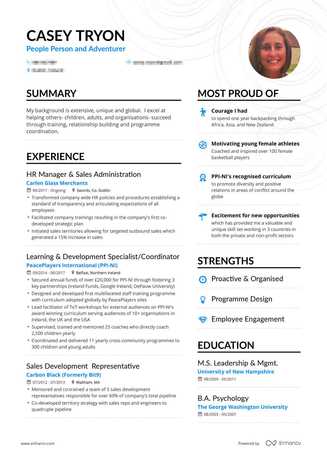 HR Manager Resume