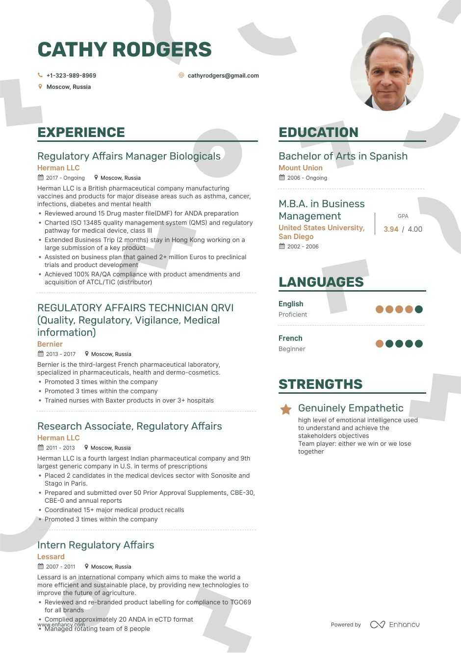 regulatory affairs resume example and guide for 2019