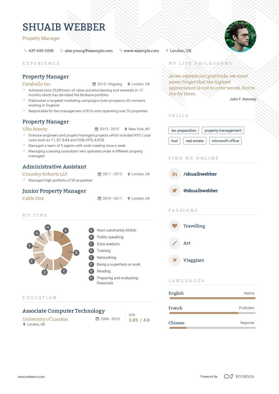property manager resume example and guide for 2019