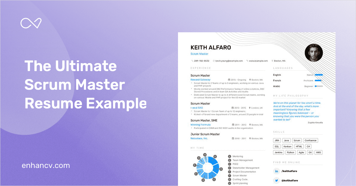 scrum master resume examples  u0026 tips to get hired