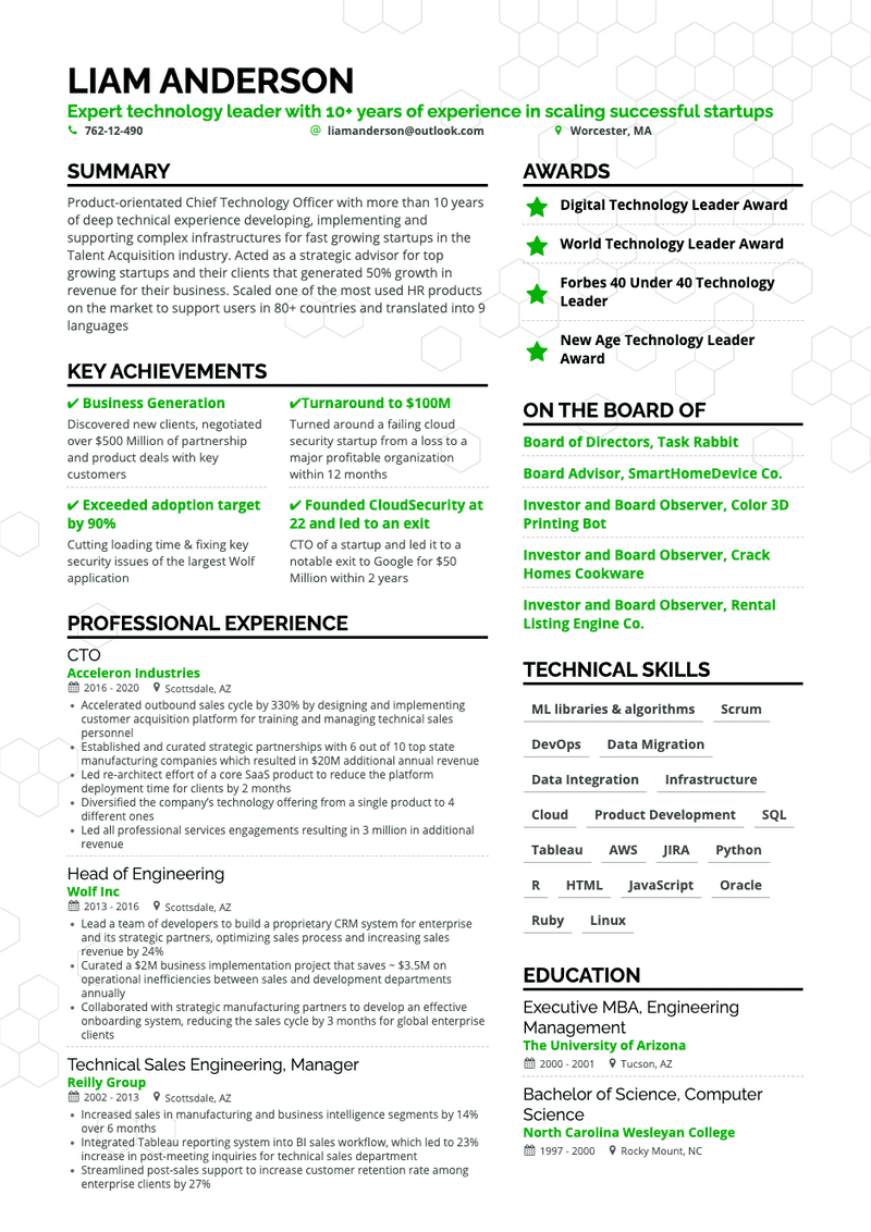 16-doodle-black-green-free-resume-template-1090
