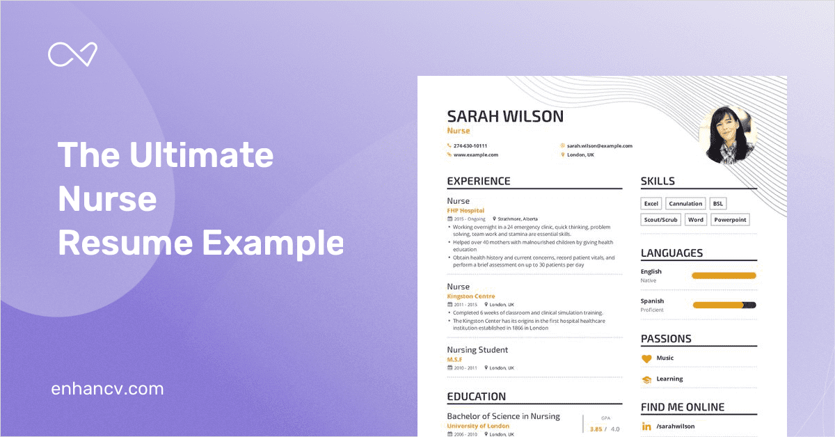 The Ultimate Guide to Nursing Resume Examples in 2019
