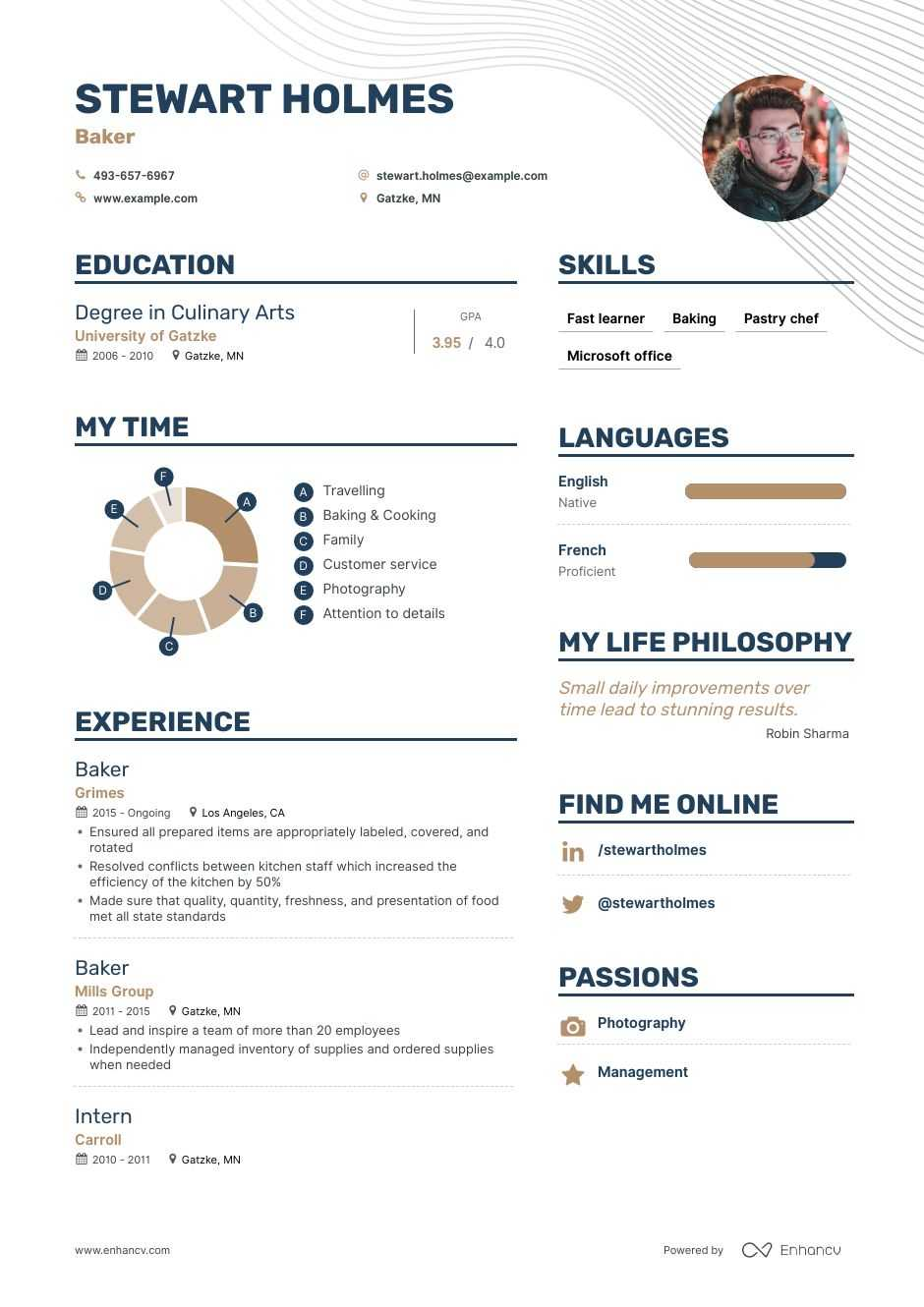 Resume for a bakery position how to write a contrast and comparison essay