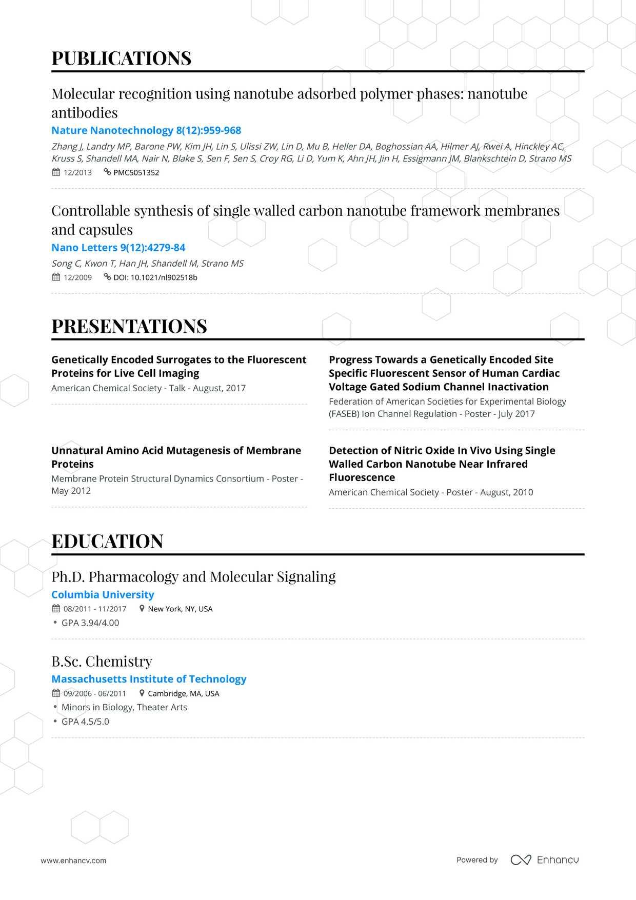 Professional CV & Resume Builder Pricing | Enhancv