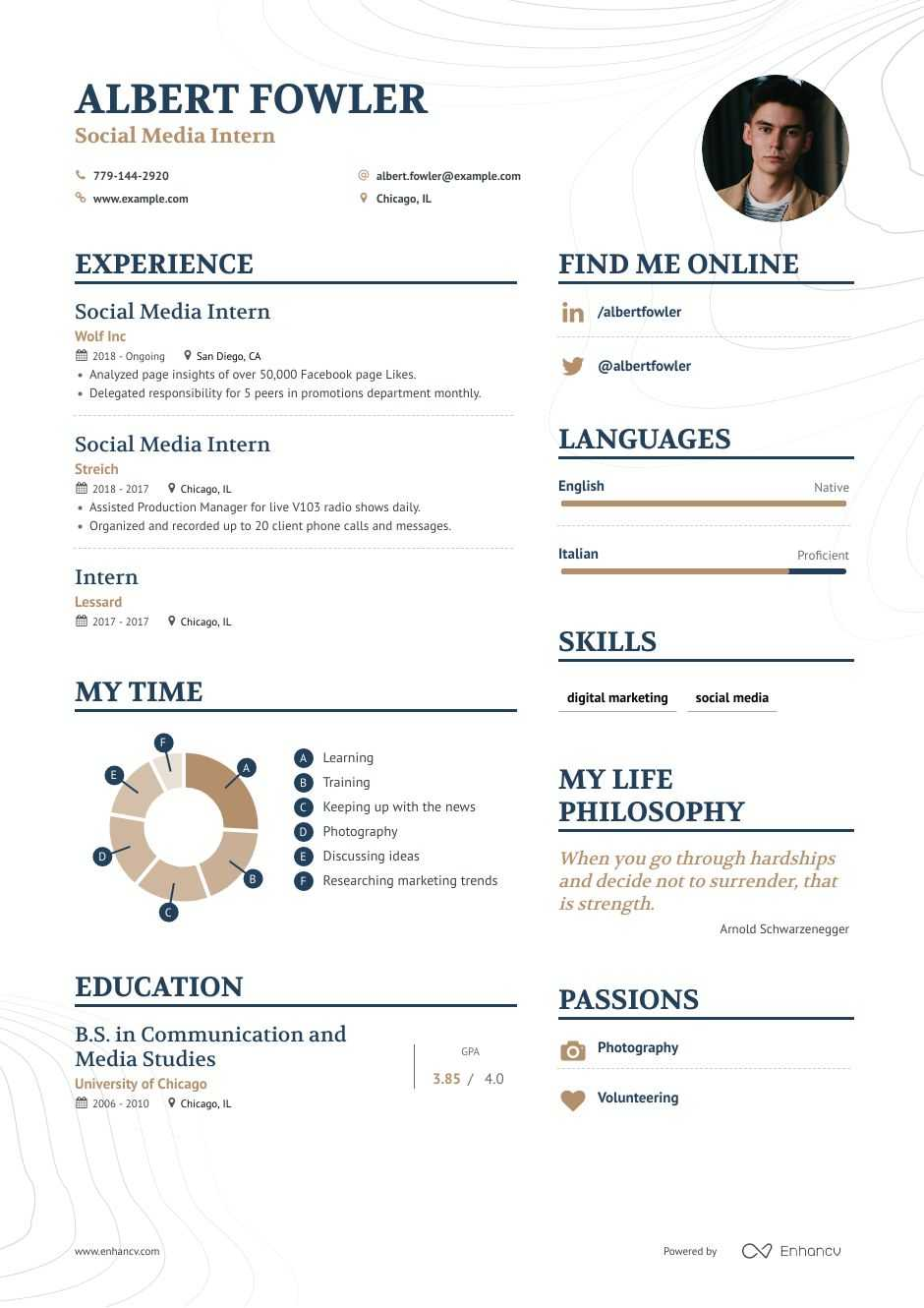 digital marketing resume example and guide for 2020