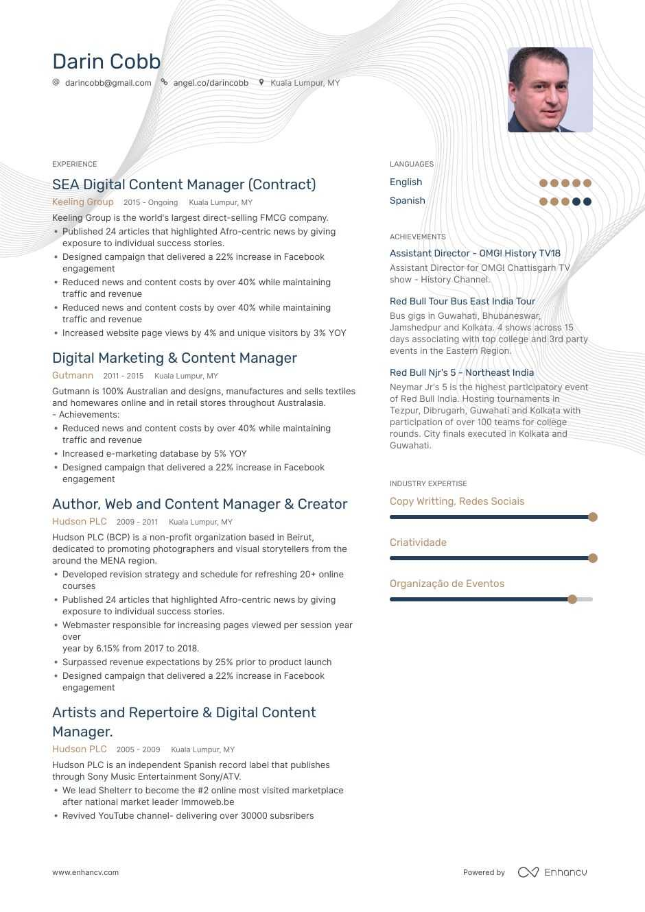 top content manager resume examples  u0026 samples for 2020