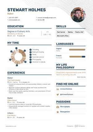 Stewart Holmes resume preview