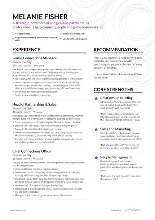 The Ultimate Guide To Sales Resume Examples In 2019