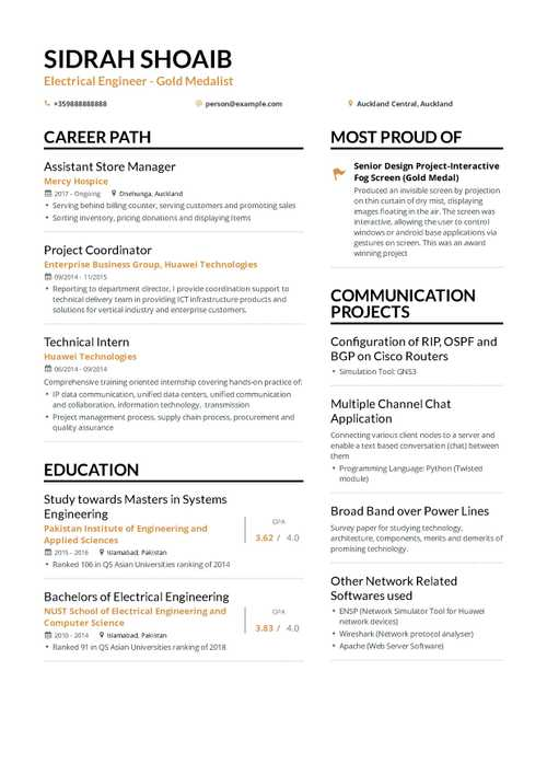The Ultimate 2019 Resume Examples And Format Guide