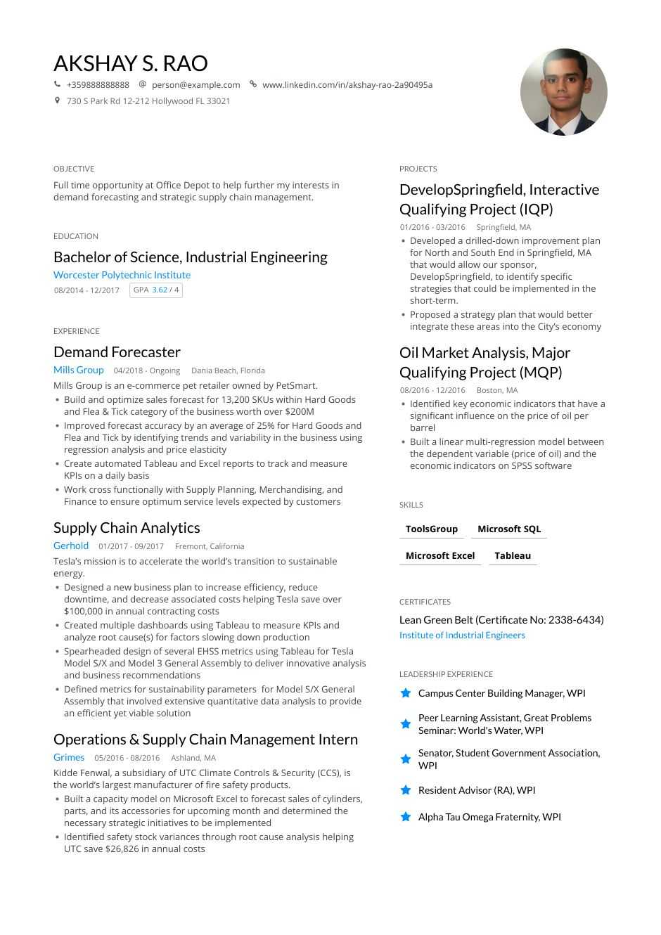 engineering resume examples and skills you need to get hired