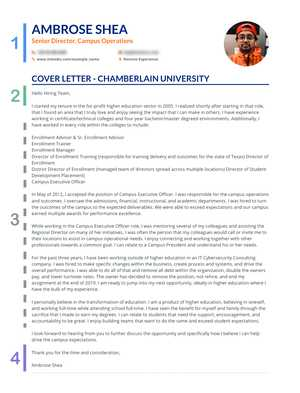 Generic Cover Letter Examples from enhancv.com