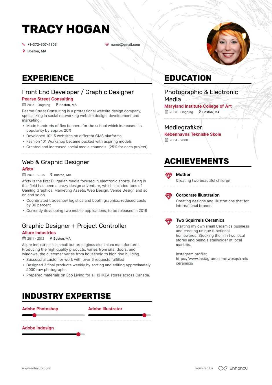 8  freelance graphic designer resume samples and writing guide