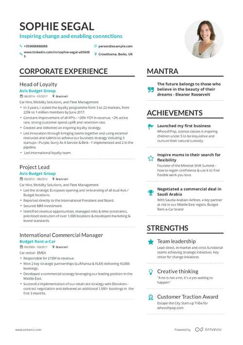 Business Resume Example 2019 71