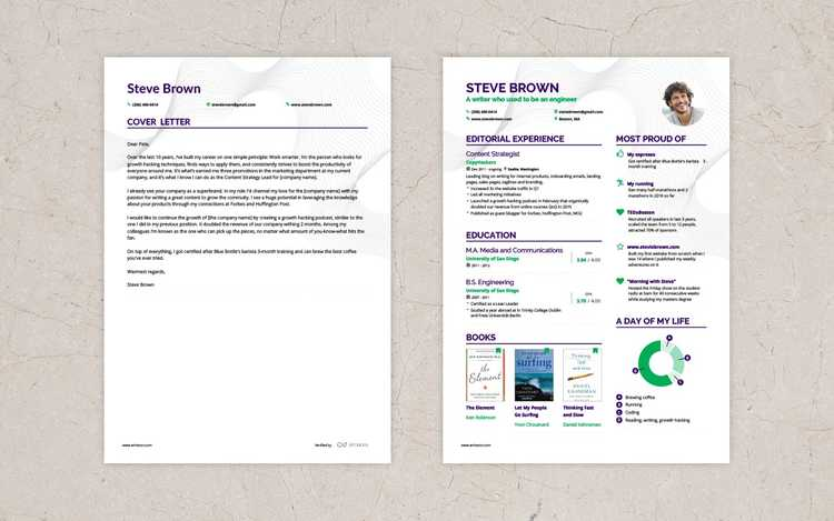 Resume Cover Letter Sample from enhancv.com