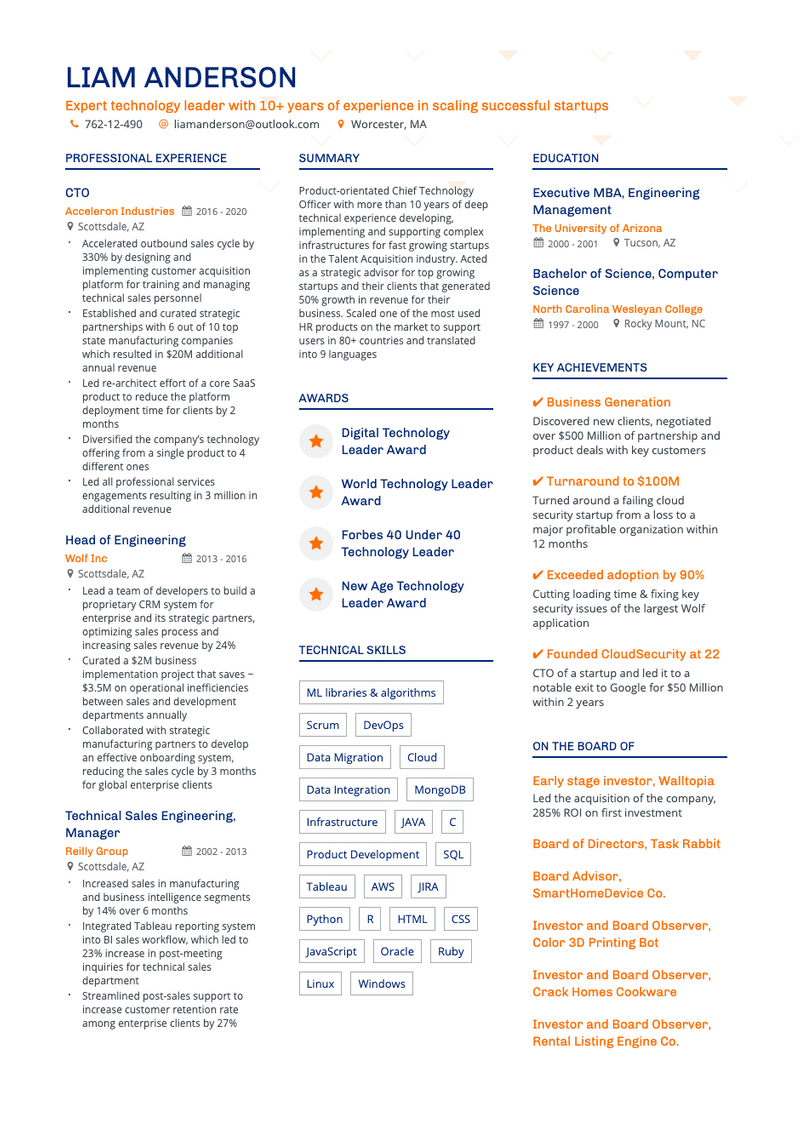 5-doodle-dark-blue-orange-resume-template-340