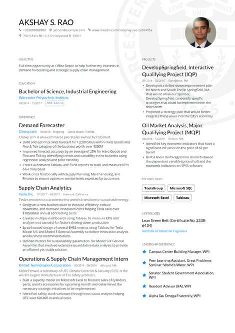the ultimate guide to engineering resume examples in 2019