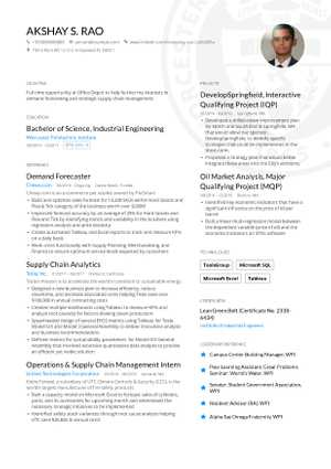 Engineering Resume 2019