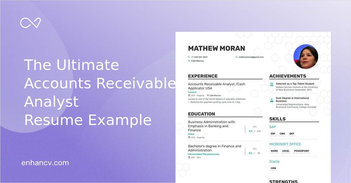 Top Accounts Receivable Analyst Resume Examples Amp Samples
