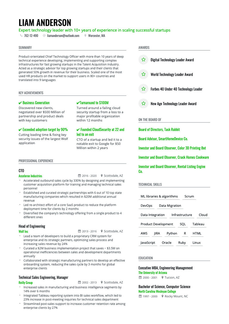 8-clean-black-green-resume-template-573