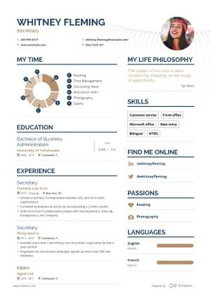 Whitney Fleming resume preview