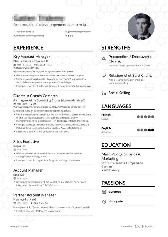 Cv 2019 Exemple Resume Examples For Your 2019 Job