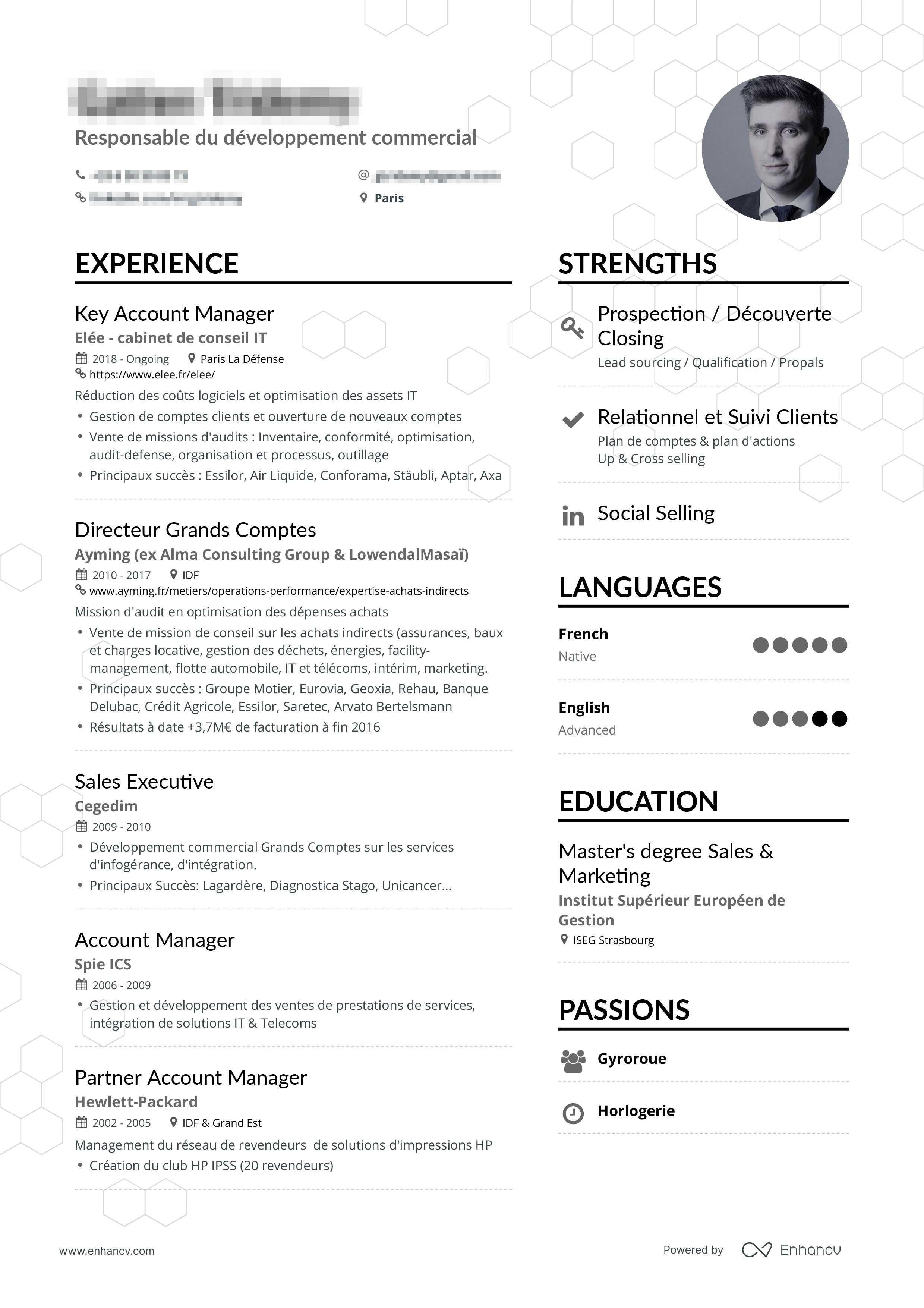 Exemple de CV gagnant. Un CV efficace décrypté pour vous.